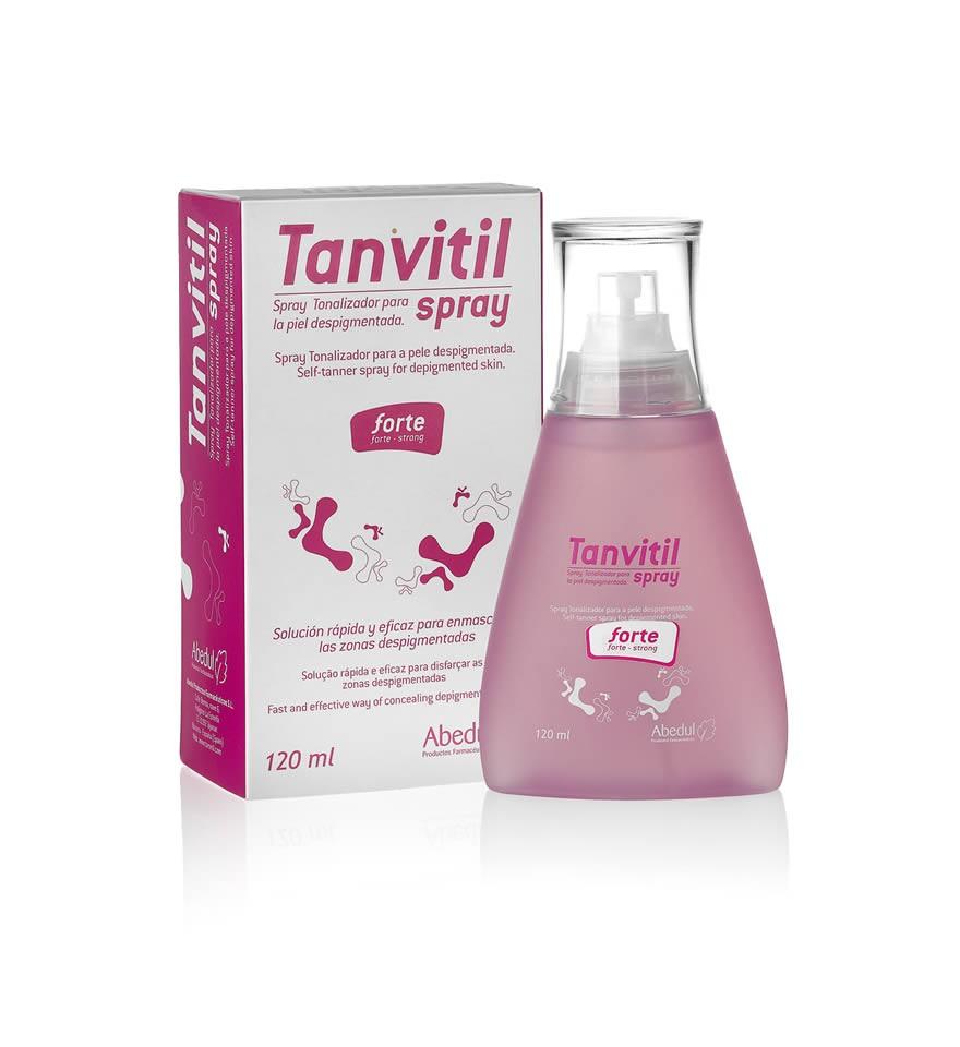 Tanvitil Spray, maquillaje tonalizador para las manchas de vitiligo